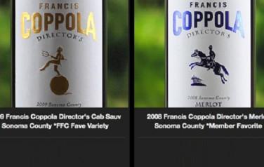 Rượu vang Mỹ Coppola Director's