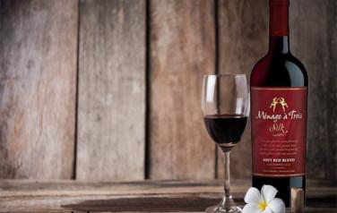 Rượu vang Menage A Trois Silk