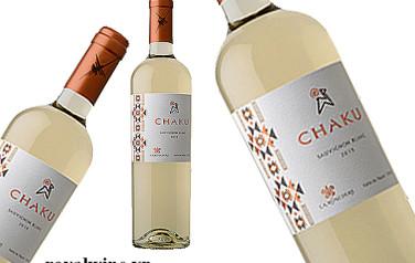 Rượu vang Chaku Sauvignon Blanc 2015