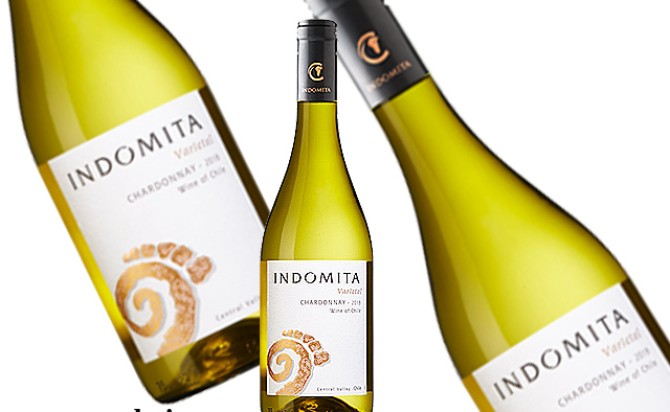 Rượu vang Indomita Varietal Chardonnay