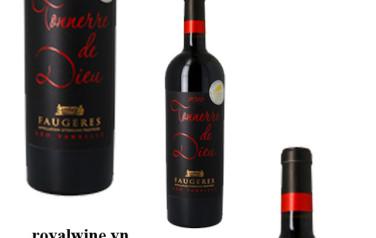 Rượu vang Leo Vareille Tonnerre De Dieu Faugeres 2014