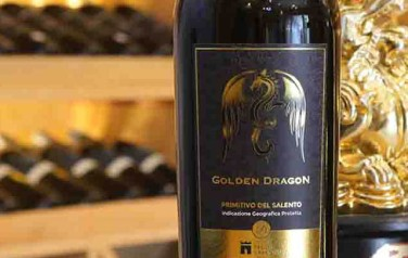 Rượu vang Golden Dragon Primitivo del Salento 2015