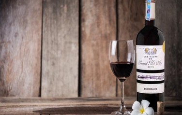 Rượu vang Château Les Hauts de Gromel Bel Air 2015