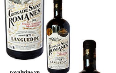 Rượu vang Closade Saint Romanes Syrah Grenache Mourvedre 2016