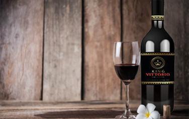 Rượu vang King Vittorio Semi Dolcer