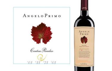 Rượu vang Cantine Paradiso Angelo Primo Nero Di Troia Puglia