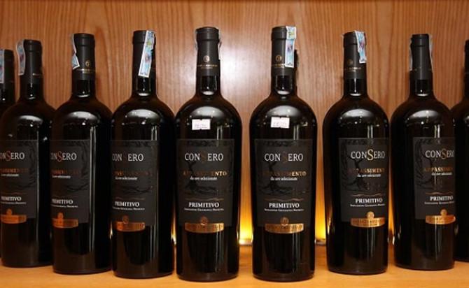 Rượu vang Consero Appassimento Primitivo Salento
