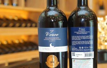 Rượu vang Verve Negroamaro Salento
